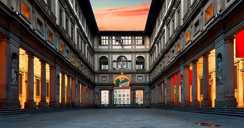 Uffizierna - Florens världsberömda konstmuseum
